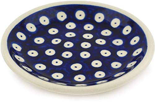 kleiner Original Bunzlauer Keramik Teller (Untertasse) Ø11,6 cm Dekor 42