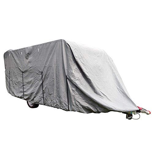 Carpoint Wohnwagenabdeckung Ultimate Protection XL 670 x 250 x 220 cm grau