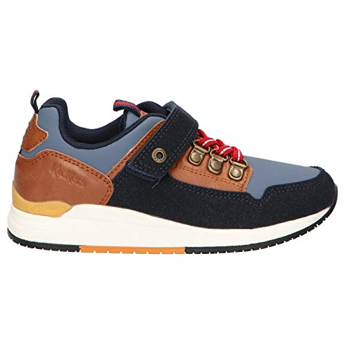 Zapatos kickers 736570-30 niño Azul