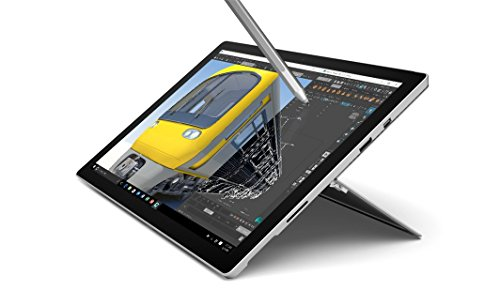 Microsoft Surface Pro 4, 256 GB 31,2 cm (12.3 Pollici) Intel Corei5 di 6ta. generazione 8GB, Wi-Fi 5 (802.11ac), Windows 10 Pro Silver - Argento (Renewed)