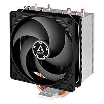 ARCTIC Freezer 34 CO - CPU Fan Cooler for Intel and AMD Pressure Optimized 120 mm Dual Ball Bearing PWM Fan with PST Technology Direct Touch Technology - Black