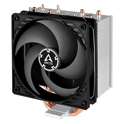ARCTIC Freezer 34 CO - Tower Prozessorkühler mit P-Lüfter für 24h-Betrieb, CPU-Kühler mit 120 mm PWM Lüfter für Intel & AMD Sockel, voraufgetr. MX-4 Wärmeleitpaste - Grau