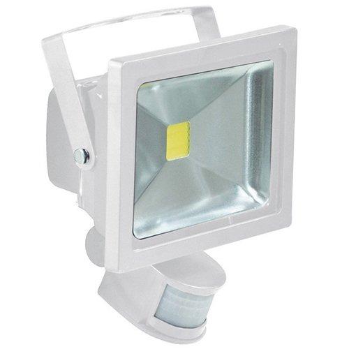 Proyector LED Girard Sudron con detector de presencia–10W–Luz–Blanco frío (4000K)