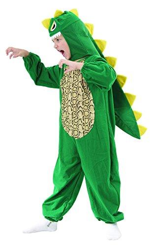 Rire Et Confetti - Fibani019 - Déguisement pour Enfant - Costume Petit Dinosaure - Taille M