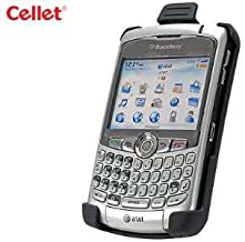 [Cellet Brand] Swivel Ratcheting Belt Clip Holster for RIM Blackberry CURVE, 8300, 8310, 8320, 8330 [Retail Packaging]