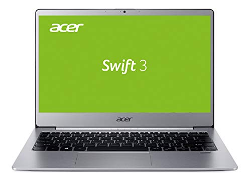 Acer Swift 3 Pro (SF313-51-873X) 33,78 cm (13,3 Zoll Full-HD) Ultrabook (Intel Core i7-8550U, 8GB RAM, 512GB PCIe SSD, Intel UHD, Win 10 Pro, LTE) silber