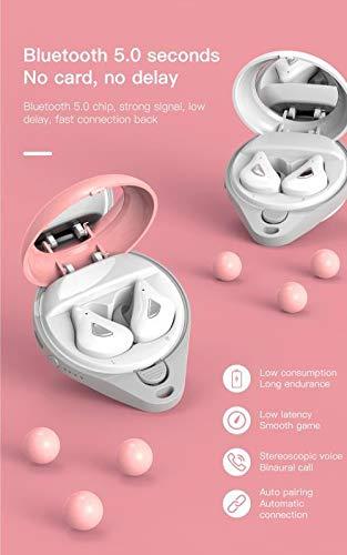 TWS Cuffie 5.0 Auricolari Bluetooth HIFI Mini Wirelesse auricolari HD Chiamata con Specchio Portatile
