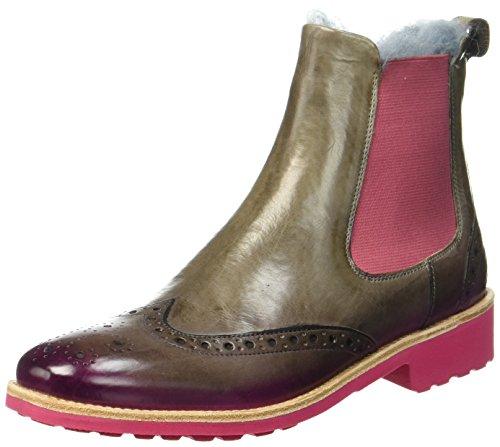 Melvin & Hamilton Damen Amelie 5 Chelsea Boots, Braun (Brown), 37 EU