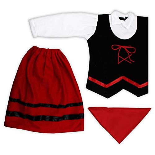 Disfraz Niña Pastorcita Navidad 1/2 Años