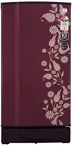 Godrej 190 L 3 Star Direct-Cool Single-Door Refrigerator (RD 1903 PT 3.2, Scarlet Dremin)
