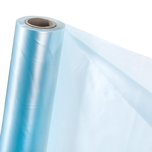 HaGa® UV2 Treibhausfolie transparente PE Folie Gewächshausfolie 6m x 10m