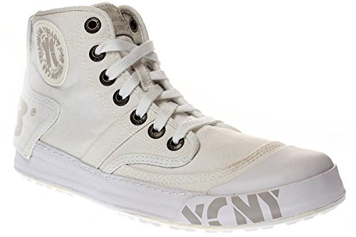 Yellow Cab Ground - Damen Sneaker Schnürer - Y25153 - White, Größe:41 EU