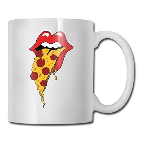 Funny Mugs Hungry For Pizza Work, Office 11 Ounces Funny Coffee Mug