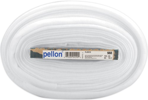 "Pellon Sew-in Fleece 44"" X20yds-White"