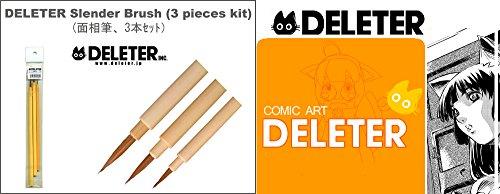 Deleter Manga Brush - Set