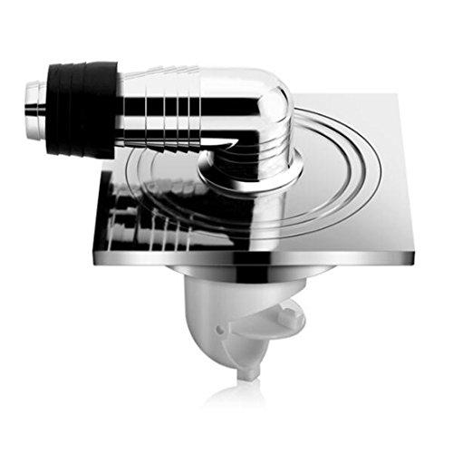 SJQKA drain de plancher Machine À Laver Siphon De Sol Le Drainage De L'Eau Sceau Anti - Retour Odeur De Machine À Laver Une Vidange Spécial Base,A
