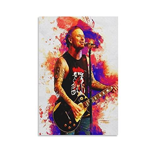 Corey Taylor Poster Painting Canvas Wall Art