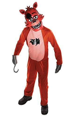 Rubies Costume pour Enfant Five Nights at Freddy's Foxy Taille L