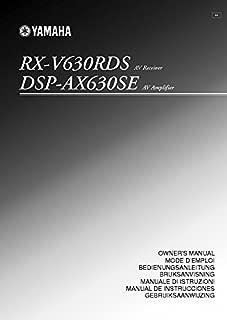 Yamaha RX-V477 RX-V577 Receiver Owners Manual [Plastic Comb] [Jan 01, 1900] Misc