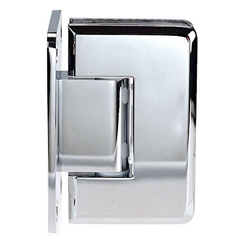 Coastal Shower Doors C-3012B Paragon Wall Frameless Heavy Glass Shower Door Hinge (Chrome)