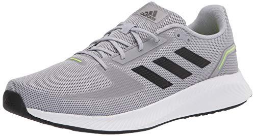 Adidas,Mens,Runfalcon 2.0,Halo Silver/Black/White,7