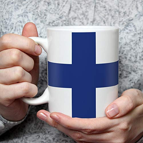 Geschenk Tasse mit Flagge Finnland Länder Flaggen Geburtstagsgeschenk Souvenir Suomi für Reiseliebhaber Frauen Männer