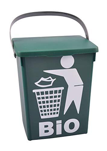 Freizeitmöbel und Leitern Dekoeimer 5L Bio Abfalleimer Komposteimer Bioeimer Biomüll Waschmittelbox Eimer