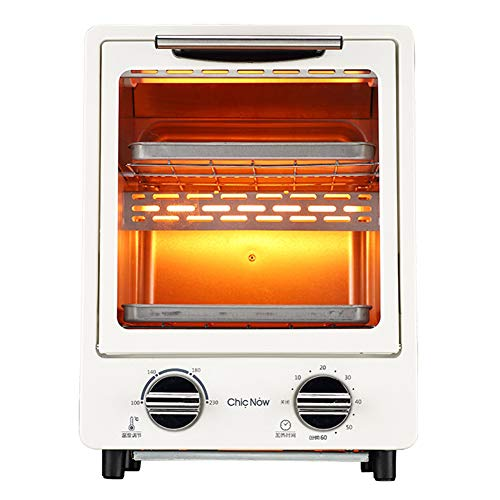 Find Discount STBD-Mini Electric Oven, Small Countertop Automatic Oven, Three Tube Heating and 1100w...