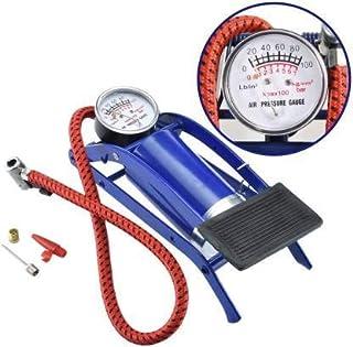 PB Enterprise ortable High Pressure Foot Pump/Air Tyre Inflator/Pump Compressor |for Bike/Car/Cycles & All Vehicles |Pack ...