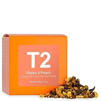 T2 Tea Pack a Peach Tea Fruit Tea Loose Leaf Iced Tea 3.5 Ounce