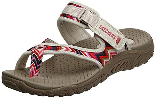Skechers Skechers Reggae-Trailway Flip Flops Damen, Natural Cream, 35 EU
