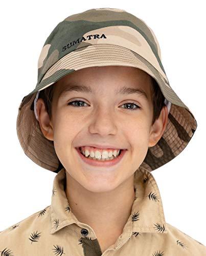 GULLIVER Sombrero para Niño Panama de Algodón Primaveral