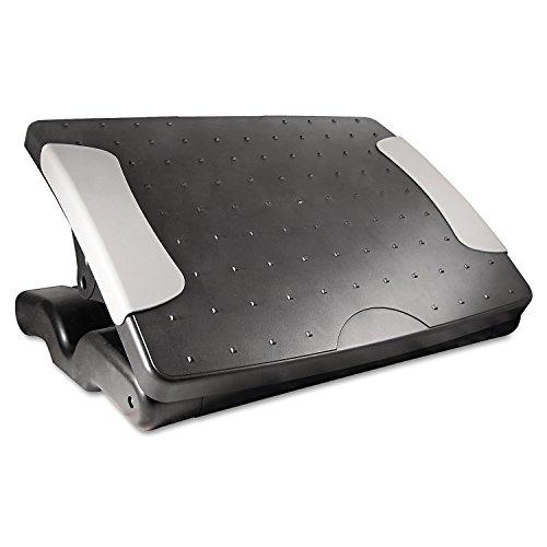 Kantek Professional Adjustable Footrest, 4 to 7-Inch Height, Black (FR600)