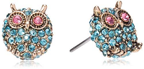 Jewel Tone Stud Earrings