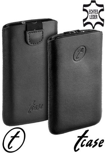 yayago Original t-case Ledertasche Leder Tasche aus echtem Leder & neuem Verschlussmechanismus für LG Google Nexus 4 (E960)