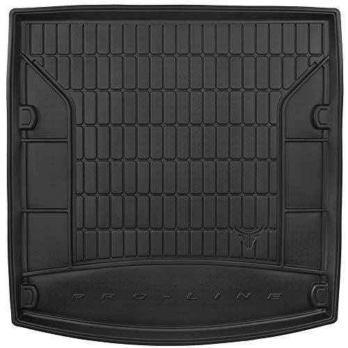 DBS Tapis de Coffre Auto - sur Mesure - Bac de Coffre pour Voiture - Rebords Surélevés - Caoutchouc Haute qualité - Antidérapant - Simple d'entretien - 1766529