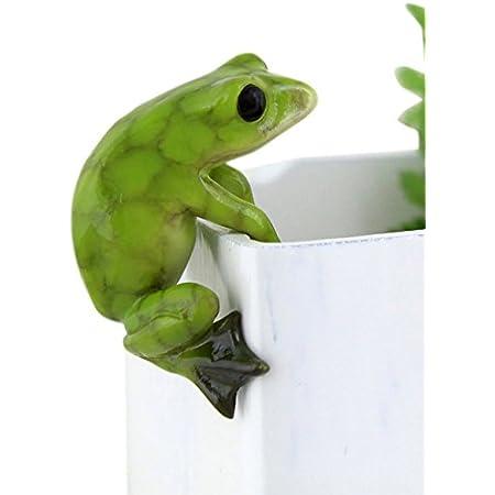 Frog Ceramic Figurine Animal Tiny Statue CAF056