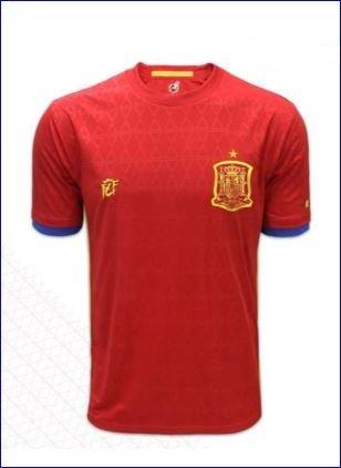 Real Federación Española de Fútbol Camiseta Oficial Selección Española (Talla S)