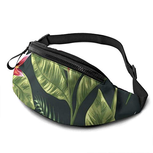 XCNGG Freizeit Hüfttasche Camping Tasche Bergsteigertasche Waist Pack Bag for Men&Women, Abstract Rainbow Colourful Light Utility Hip Pack Bag with Adjustable Strap for Workout Traveling Casual Runnin
