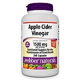 Best Apple Cider Vinegar Capsules - Webber Naturals Apple Cider Vinegar 1500mg, High Potency Review