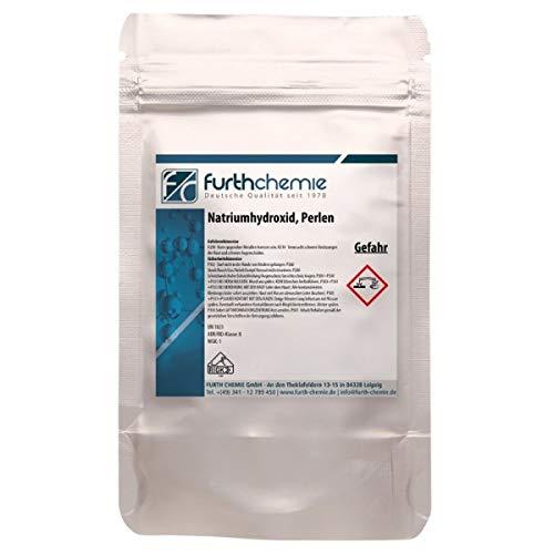 Furthchemie Natriumhydroxid, Ätznatron, NaOH, kaustisches Soda | 1kg