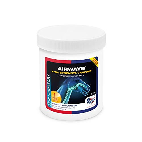 Equine America Airways Xtra Strength | Premium Ready To Use Horse & Pony Supplement | For Respiratory Support | 500g
