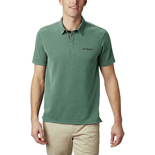 Columbia Nelson Point Polo pour Homme S Vert thym
