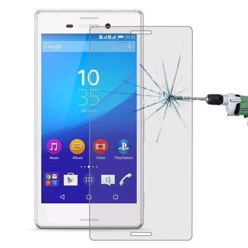 Panzerglas für Sony Xperia M4 Aqua Bildschirm Schutz Echt Glas Panzer Folie Tempered Glass 9H Schutzglas Echtglasfolie Bildschirmschutzfolie