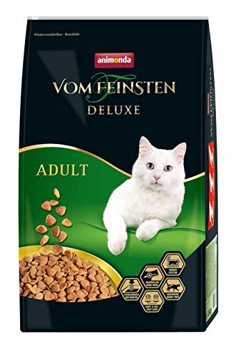 animonda Vom Feinsten Deluxe Adult Katzenfutter, Trockenfutter für erwachsene Katzen, aus Geflügel, 10 kg