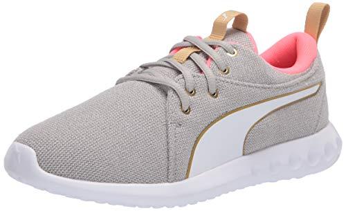 PUMA Women's Carson 2 Shoe, High Rise-nite Pink-puma Team Gold, 8 M US