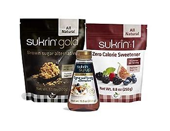 Sukrin Sweetener Bundle - Sukrin Gold Sukrin 1 Sukrin Gold Syrup