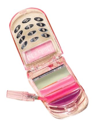 amscan Barbie All Doll'd Up Cell Phone Lip Gloss Birthday Party Accessory (6 Pack), 3.25' x 1.5', Pink