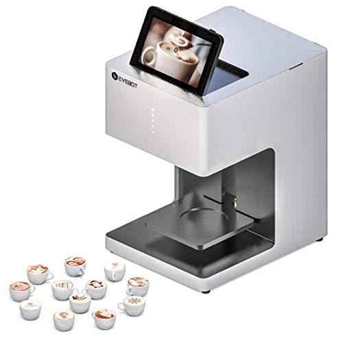 Intelligente Stampante Per Caffè Latte Art Barista Machine A Getto D'inchiostro Digitale Stampa Autoscatto Touch Screen Torta Dolci Yogurt Gelato La Scelta Dell'imprenditore,Bianca