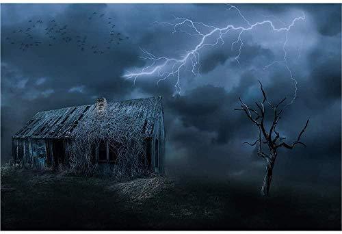 SLZJ Rompecabezas Thriller Horror Cabins Juguetes creativos de descompresión, Juegos intelectuales para niños Adultos de Alta dificultad 1500-6000 piezas-3000 tabletas